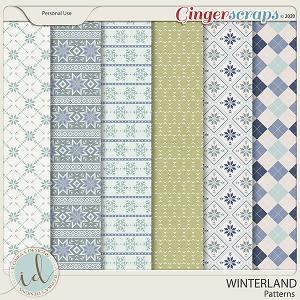 Winterland Patterns by Ilonka's Designs