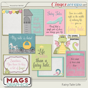 Fairy Tale Life JOURNAL CARDS Pack by MagsGraphics
