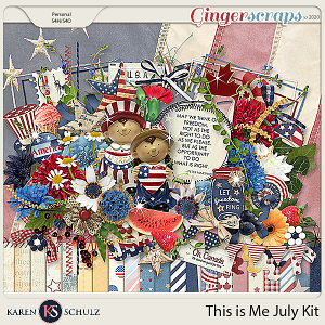This is Me July Kit by Snickerdoodle Designs