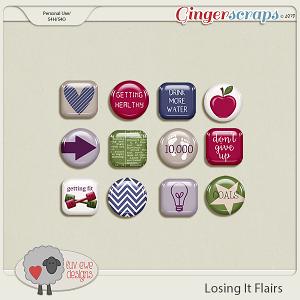 Losing It Flairs by Luv Ewe Designs