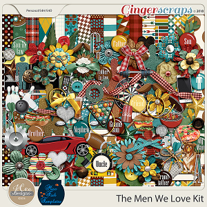 The Men We Love Kit by JoCee Designs and Miss Fish
