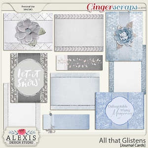 All that Glistens - Journal Cards
