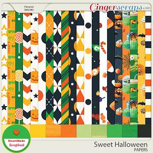 Sweet Halloween - papers