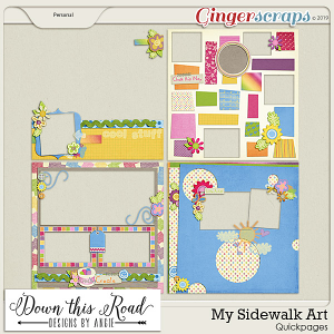 My Sidewalk Art Quickpages