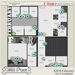 #2016 February - Template Pack (CU Ok)