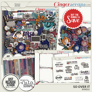 So Over It Bundle by JB Studio and Neia Scraps