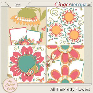 The Cherry On Top: All The Pretty Flowers Templates