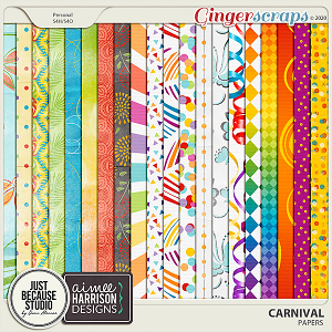 Carnival Papers by JB Studio and Aimee Harrison Designs