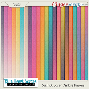Such A Loser Ombre Paper Pack