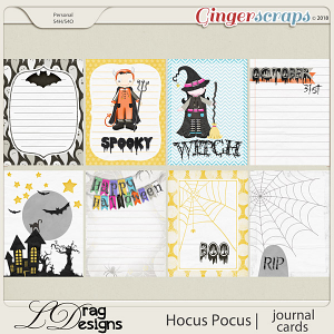 Hocus Pocus: Journal Cards by LDrag Designs