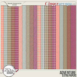 Adventure - Extra Papers - by Neia Scraps