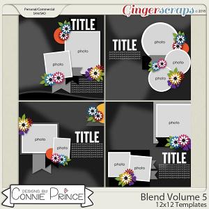 Blend Volume 5 - 12x12 Temps (CU Ok) by Connie Prince