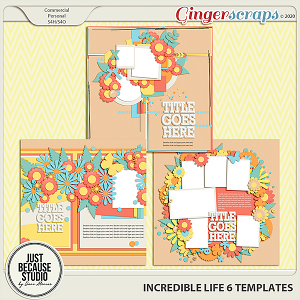Incredible Life 6 Templates By JB Studio