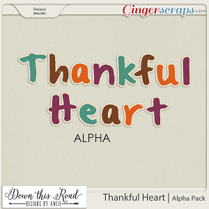 Thankful Heart | Alpha Pack