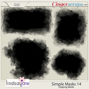 Simple Masks 14 by Lindsay Jane