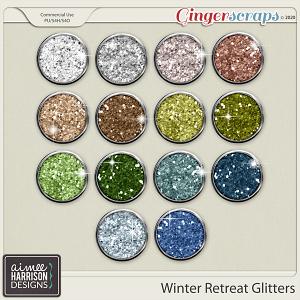 Winter Retreat Glitters by Aimee Harrison