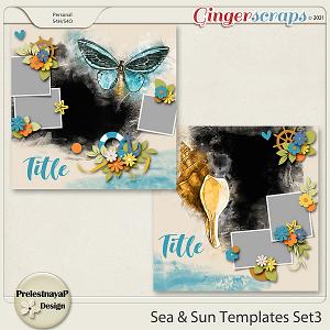 Sea & Sun Templates Set3