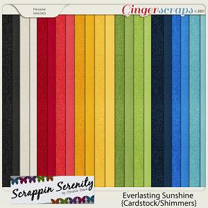 Everlasting Sunshine - Cardstock & Shimmer Papers