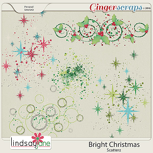 Bright Christmas Scatterz by Lindsay Jane