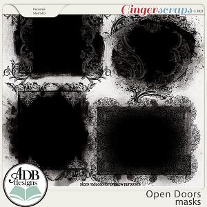 Open Doors Masks by ADB Designs