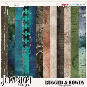 Rugged & Rowdy {Rustic Papers}