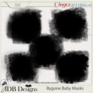Bygone Baby Masks by ADB Designs
