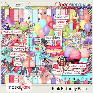 Pink Birthday Bash by Lindsay Jane