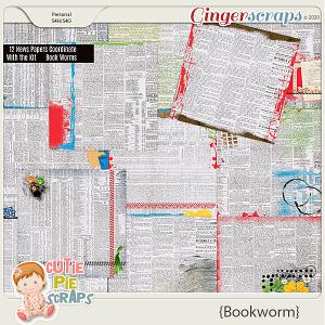 Bookworm News Papers By Cutie Pie Scraps