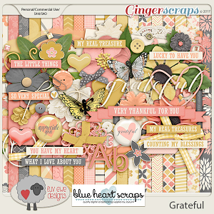 Grateful by Luv Ewe Designs and Blue Heart Scraps