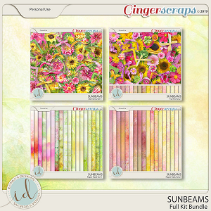 Sunbeams Full Kit Bundle by Ilonka's Designs