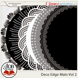 Deco Mats Vol 02 by ADB Designs