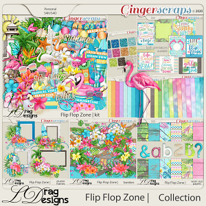 Flip Flop Zone: The Collection by LDragDesigns