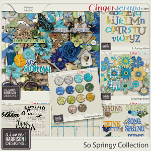 So Springy Collection by Aimee Harrison