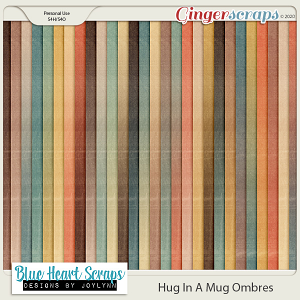 Hug In A Mug Ombre Papers
