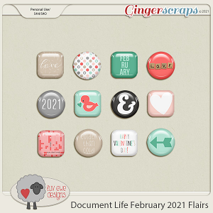 Document Life February 2021 Flairs by Luv Ewe Designs