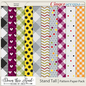 Stand Tall | Pattern Paper Pack