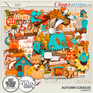 Autumn Cuddles Elements by JB Studio and Neia Scraps