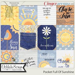 Pocket Full Of Sunshine Pocket Scrapbook Cards