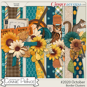 #2020 October - Border Clusters by Connie Prince