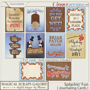 Splashin' Fun (journaling cards)