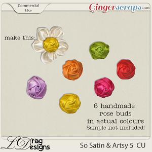 So Satin & Artsy 5 CU by LDragDesigns