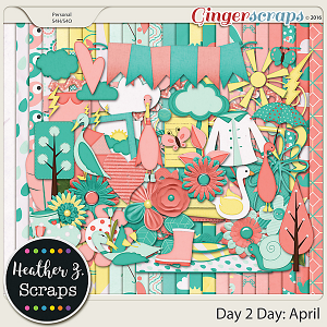 Day 2 Day: April KIT by Heather Z Scraps