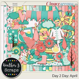 Day 2 Day: April KIT by Heather Z Scraps