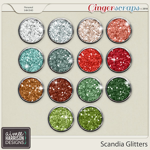 Scandia Glitters by Aimee Harrison