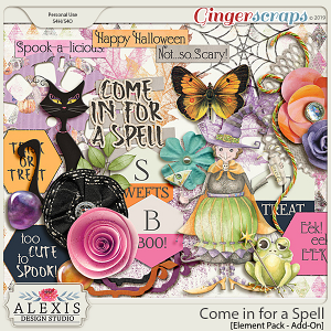 Come in for a Spell - Elements {Add-On Pack}