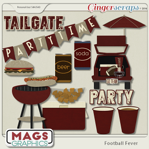 Football Fever TAILGATE Pack