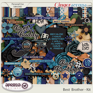 Best Brother - Kit by Aprilisa Designs