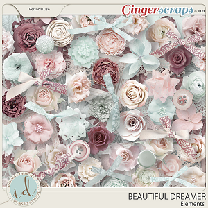 Beautiful Dreamer Elements by Ilonka's Designs