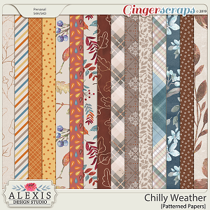 Chilly Weather - Patterned Papers