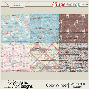 Cozy Winter: Worn OUt Papers by LDragDesigns